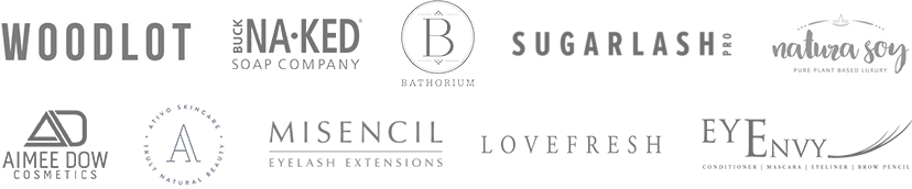 LUXE Beauty Bar uses or sells these trusted brands.